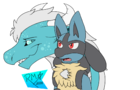 Kothorix and Lucario the VideoGame!