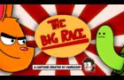 The Big Race. A cartoon animation.