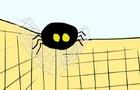 Spider in the bathroom cartoon animation