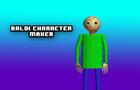 Baldi Character Maker