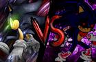 Dark Sonic vs Sonic.exe   Sprite Battle