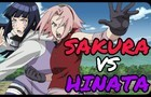 Sakura Haruno vs Hinata Hyuga