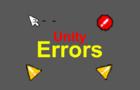 Unity Errors