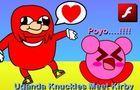 Uganda Knuckles Meet Kirby