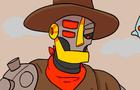 Robot Cowboy Duel