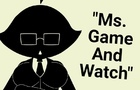 Ms. Game And Watch (update)