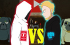 What if Pewdiepie Vs T-Series was an anime