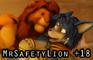 Lion King Simba x Starfox Krystal (MrSafetyLion) (+18)