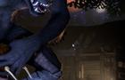Werewolf-Argonian Facefucking