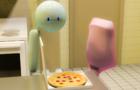 Blurb and Blab's Pizza