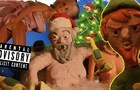 Adult Christmas - Santa Claus Party and the power of the butt