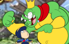 Marth vs. King K Rool (SMASH BROS PARODY)