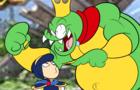 Marth vs. King K Rool (SMASH BROS PARODY)