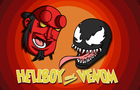 Hellboy and Venom