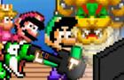 Luigi Plays Guitar Hero