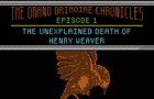The Grand Grimoire Chronicles - Episode 1