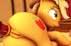 Applejack anal animation
