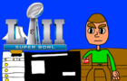 Nick King Short: Nick watching Super Bowl