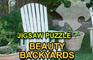Jigsaw Puzzle Beauty Backyards