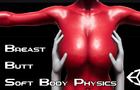 Unity Soft Body Breasts and Butt Physics