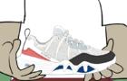 Lil Jupiterr K-Swiss Sneaker collab
