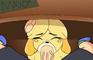 "Isabelle ""Under the desk"" 18+ Animation"