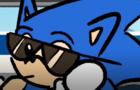 Sonic skates to win