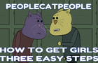 How to Get GIRLS in 3 easy steps - People Cat People Animated Short Short