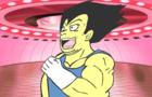 Dragon Ball Z Parody Vegeta Trains too Hard