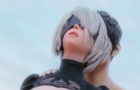 2B fucked from behind