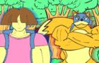 Dora the Explorer Parody [[Dora's Bizarre Adventure]]