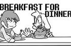 Breakfast for Dinner- Undertale Short