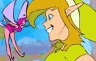 Zelda Reanimated Scene
