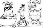 Alien & Bobcat Adventure
