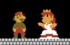 Super Mario Rescues The Princess (8bit)