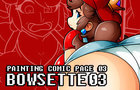 SPEED PAINTING BOWSETTE 03 COMIC PAGE