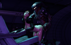 Shepard fucked by Collector
