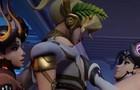 Devil Mercy futa threesome