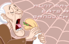 Aunt May Eats a Sandwich