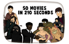 50 Movies in 210 seconds | Kotoon