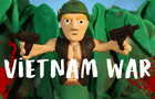 Vietnam War in clay