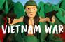 Vietnam War in clay
