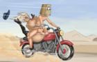 Fuckerman:Petrol station