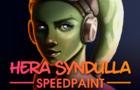 Hera Syndulla Speed Paint