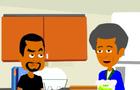 Friday Movie [Kitchen Scene] CARTOON