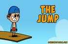 The Jump. A cartoon animation