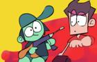 SUPERMEGA Animated: Ryan Has a Gun