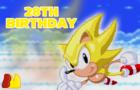 Happy 28th Birthday Sonic