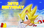 Happy 28th Birthday Sonic