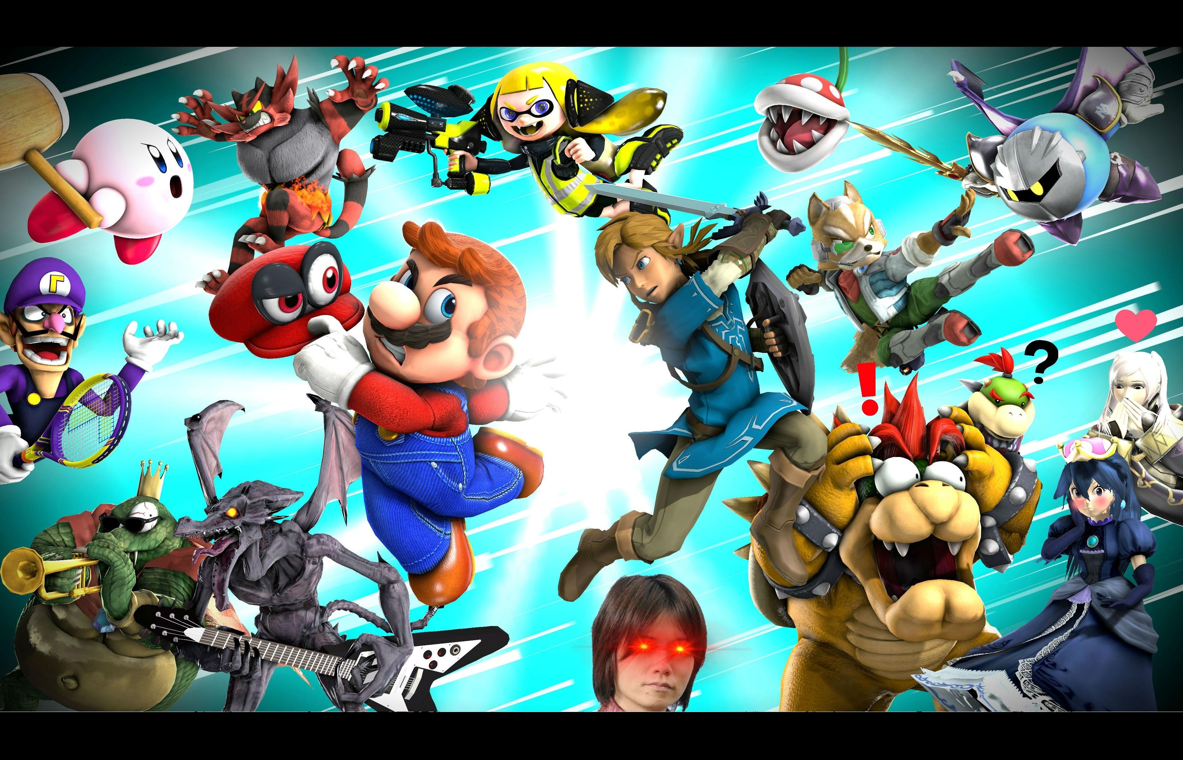 (SFM) Super Smash Bros: The ULTIMATE Parody!
